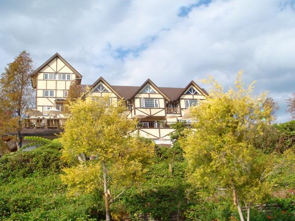 綠光森林的歐式房舍