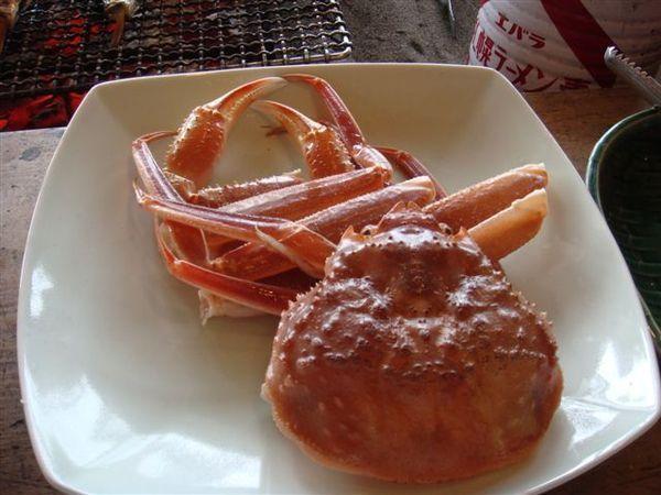 073萬壽山午餐-松葉蟹.JPG