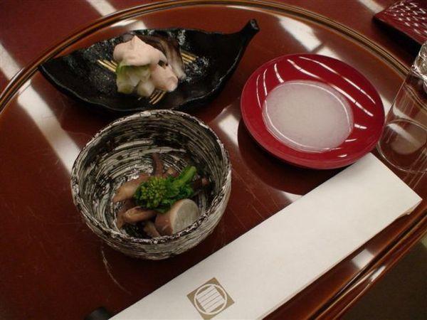350前菜與新年米酒.JPG