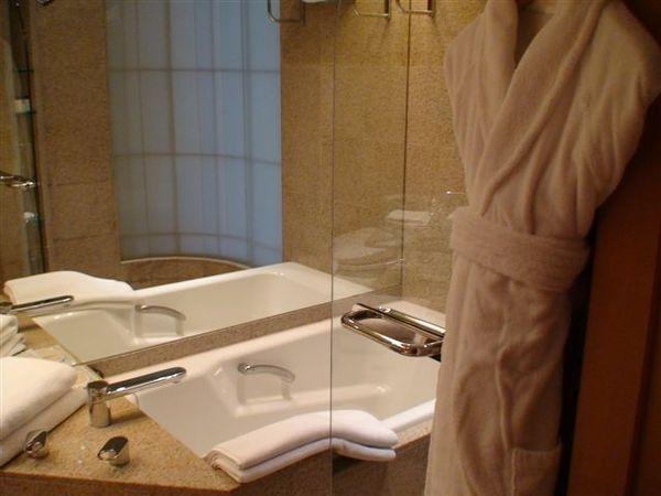 604凱悅飯店浴室.JPG