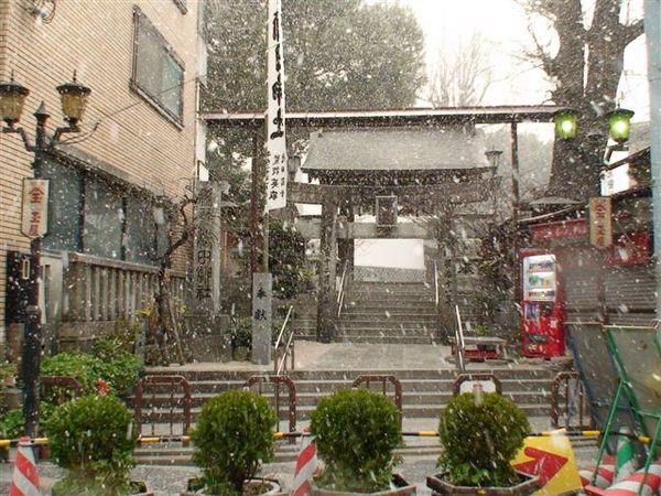 633雪中的櫛田神社.JPG
