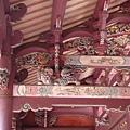 孔廟樑柱彩繪