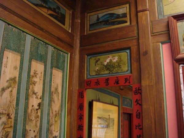 很漂亮的台灣古式民家