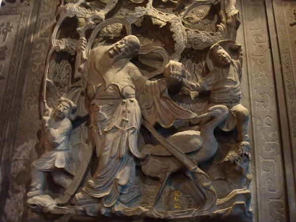 天壇的浮雕