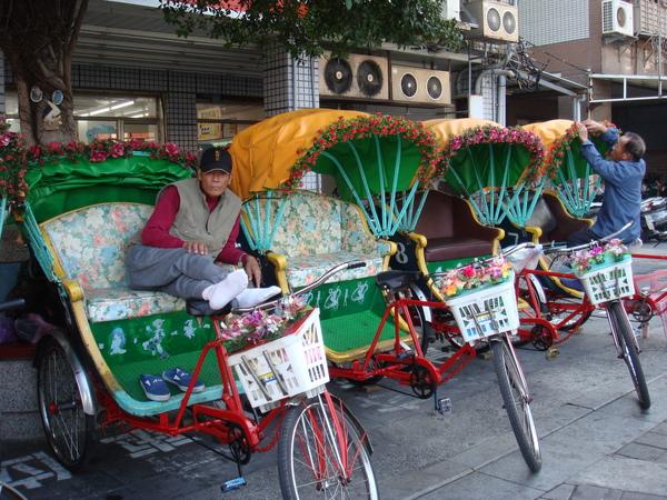 旗津的三輪車