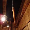 吊在天花板的竹鉤