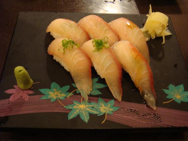 紅魚甘握壽司