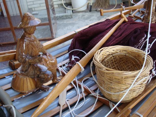 竹筏模型3
