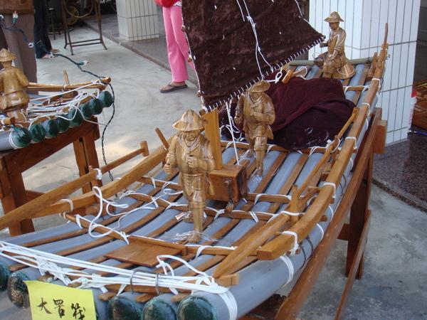 竹筏模型4