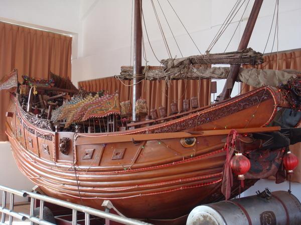鎮安宮的王船