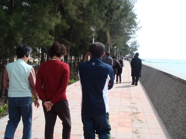 漫步東石漁人碼頭