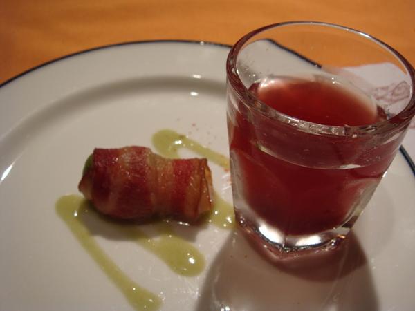 前菜與雞尾酒