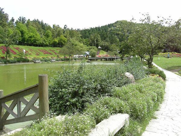 小花園風景