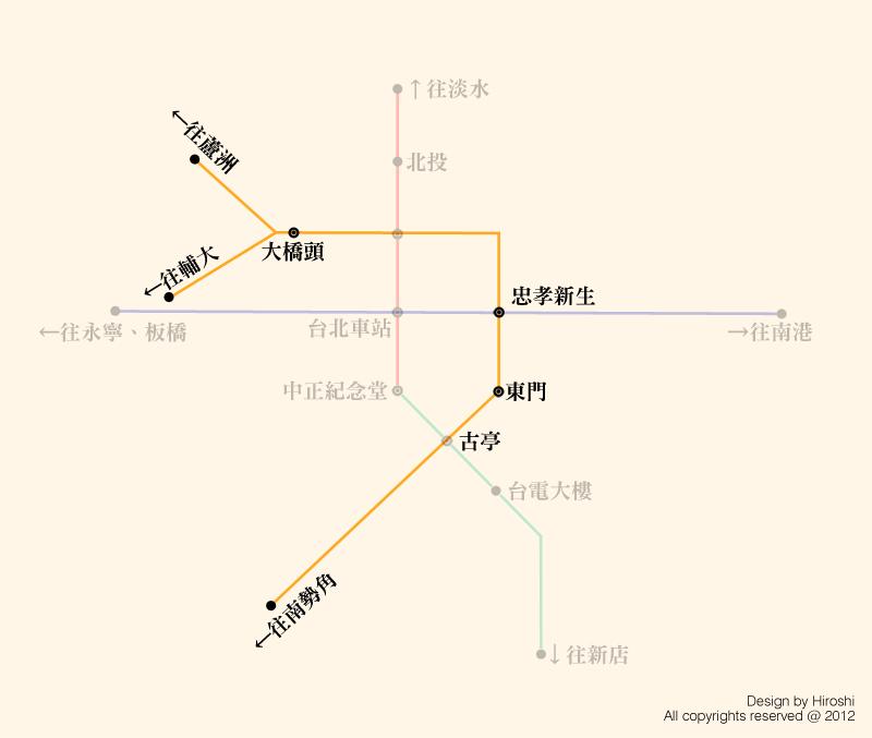 中新蘆路線