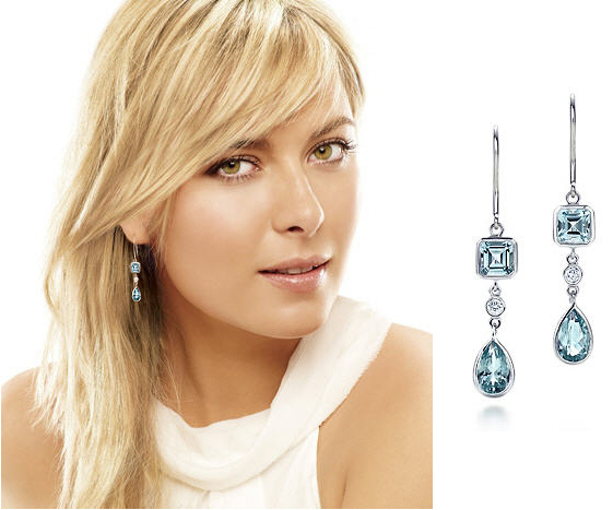 maria_sharapova_tiffany_aquamarine_earrings