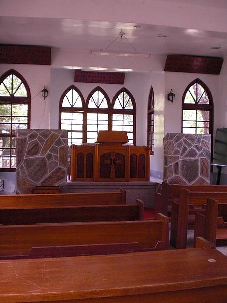 禮拜堂內部