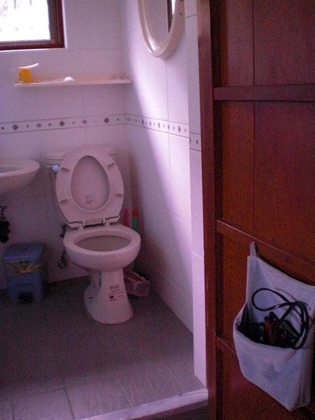 起居室的衛浴設備