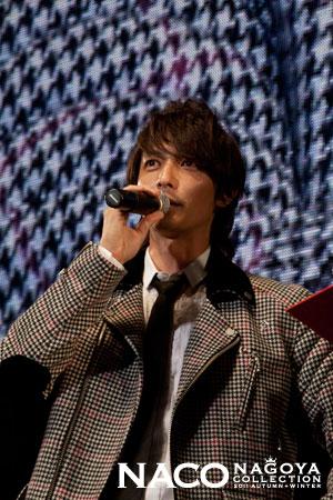 20111001 NACO FASHION SHOW GUEST 玉木宏.jpg