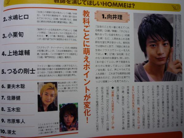 1001  ザテリビジュン  HOMME 3.JPG