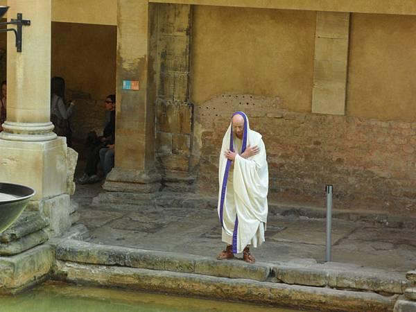 英國巴斯-羅馬浴池博物館.JPG