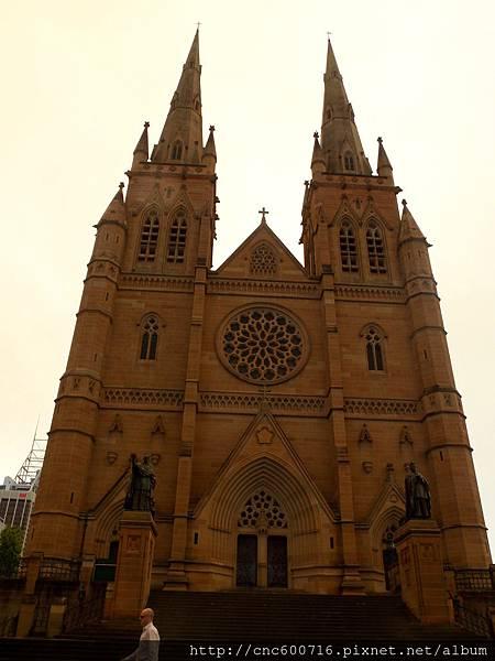 雪梨-聖瑪利大教堂 01.JPG