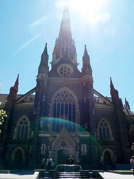 墨爾本-聖派屈克大教堂 01.JPG