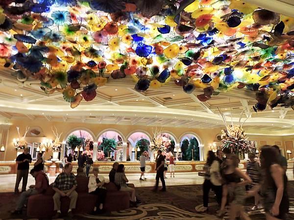 拉斯維加斯-夜遊BELAGIO貝拉吉飯店  02.JPG
