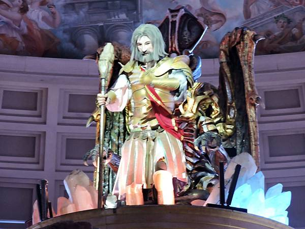 拉斯維加斯-夜遊凱薩宮雕像秀 07.JPG