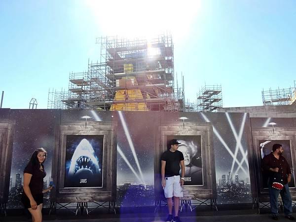 洛杉磯-環球影城 21(興建中的哈利波特).JPG