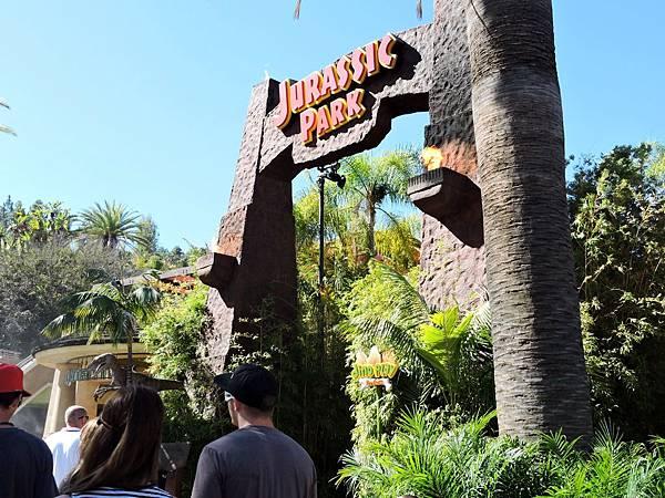 洛杉磯-環球影城 24(侏儸紀公園).JPG