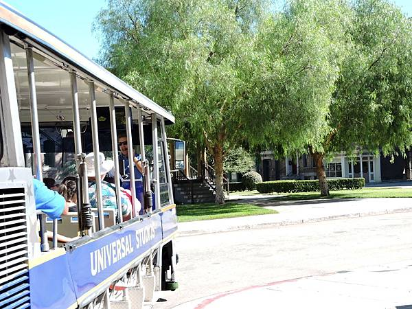洛杉磯-環球影城 42(遊園列車).JPG