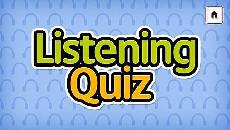 Listening Quiz
