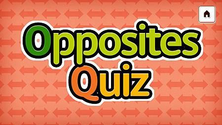 Opposites Quiz