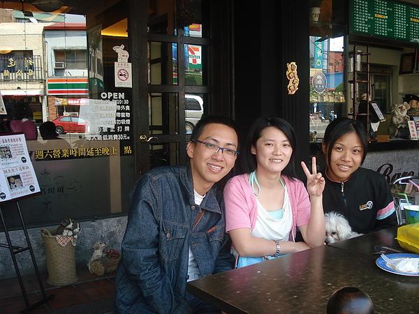 我和朋友玉嬋與銚銚