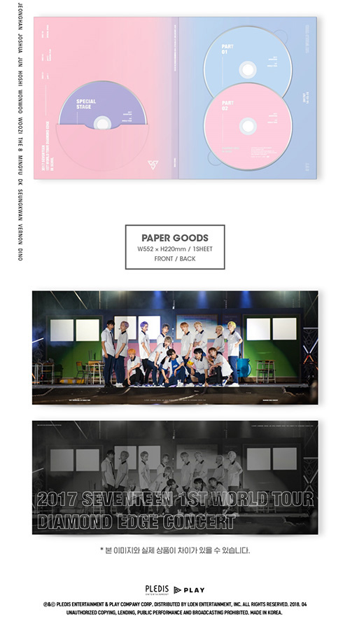 DIAMOND EDGE IN SEOUL DVD
