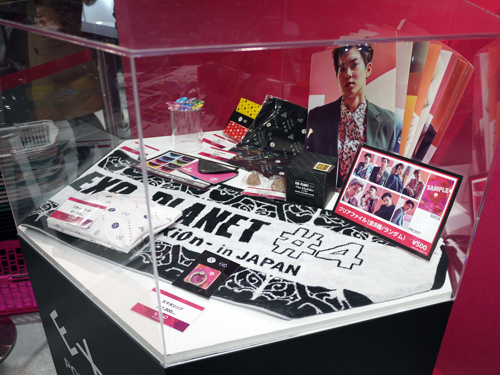 EXO POP-UP STORE IN JAPAN