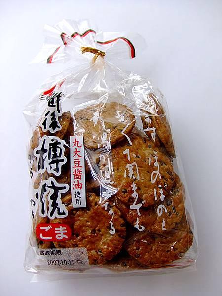 日式醬油仙貝