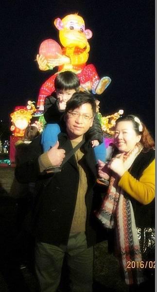 台灣燈會中路風禾公園區祥猴獻桃 (23).JPG