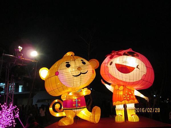 台灣燈會中路風禾公園區祥猴獻桃 (24).JPG