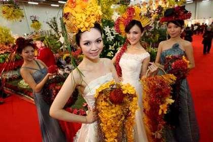 天子神州 台中蘭花博覽會