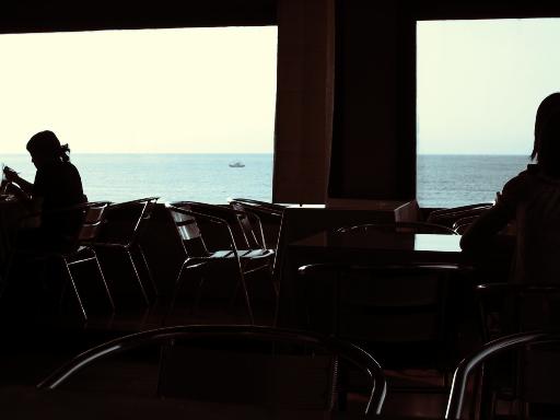 咖啡廳一景另一角