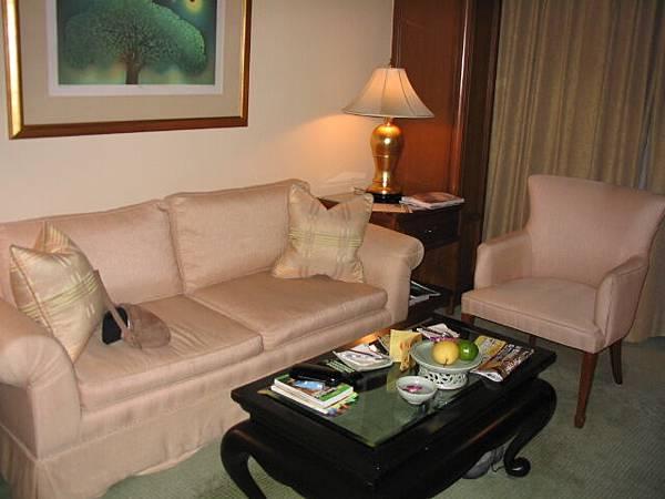 飯店的迎賓水果有山竹噢
