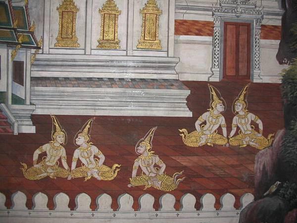 玉佛寺裡的壁畫II