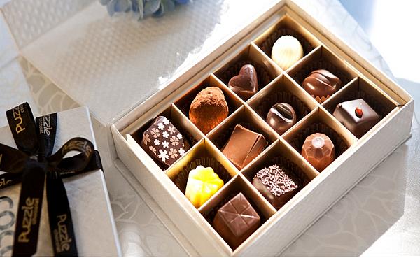 挑選巧克力