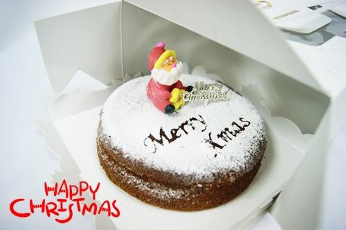 聖誕巧克力蛋糕2