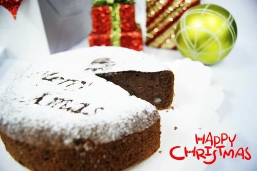 聖誕巧克力蛋糕5