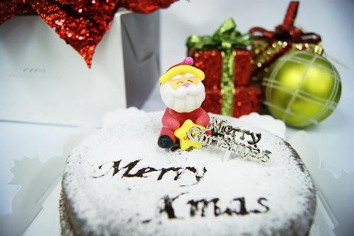聖誕巧克力蛋糕3