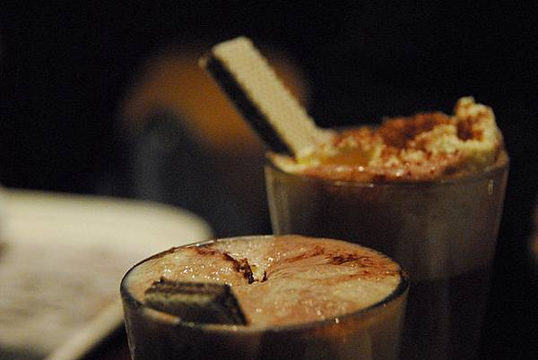 熱巧克力跟熱可可