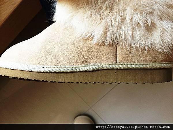 雪靴Grace gife 雪靴/兔毛雪靴/米白色雪靴 出清