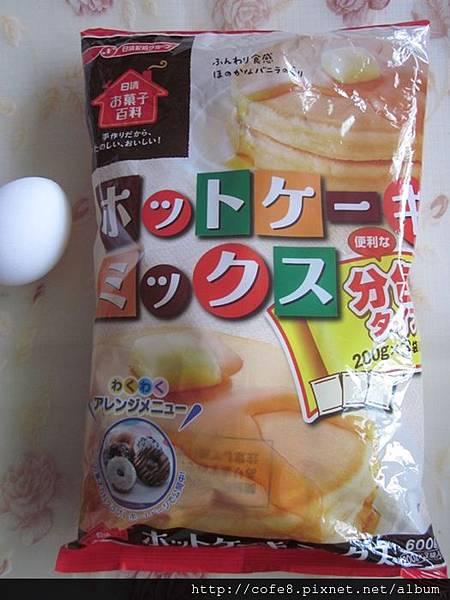 日清鬆餅粉